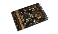 4 microSD kártya SATA RAID converter adapter max:250GB