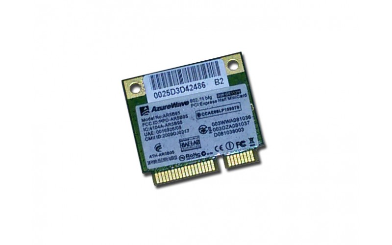Laptop Mini PCI-Express WiFi kártya AzureWave AR5B95