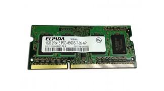 Laptop 1GB DDR3 Elpida RAM 1066Mhz