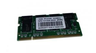 Laptop 1GB DDR1 Micron RAM 333Mhz