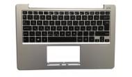 Laptop billentyűzet és felsőrész - magyar ASUS X201,X201E, 90NB00L1-R31HU0