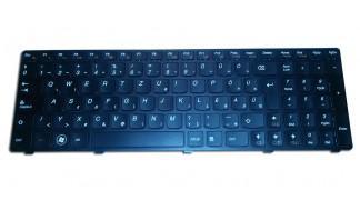Laptop billentyűzet magyar Lenovo G470, G475, G570, G575 - PK130E43A22