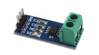 Arduino kompatibilis 20A áram érzékelő szenzor modul - ACS712