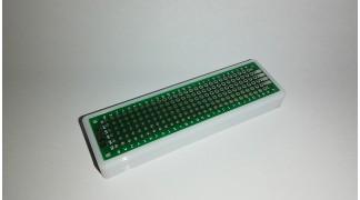 80x20mm kétoldalas furat-galvanizált nyák és tartó keret