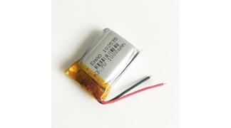 Li-Polymer akkumulátor 3.7V 1000mah 102535