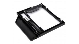 """Optibay beépítő keret 2.5"""" HDD SATA 3.0 - Laptop SATA DVD/CD-ROM helyére - 12mm"""