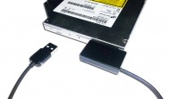USB 2.0 SATA Slimline CD/DVD adapter kábel